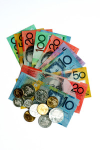Australian Currency notes and coins 3.12.10