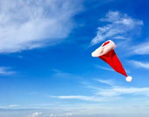 Santa Hat in wind - reduced